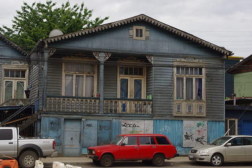 Wooden house, Osorno