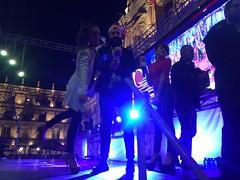 Angy en la Nochevieja Universitaria de Salamanca 2015