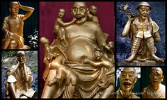Buddhas and Buddhas (jean-marc rosseels) Tags: color colors canon hongkong buddha boudha boudhism