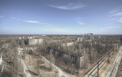 'Views over Pripyat' (Timster1973 - thanks for the 13 million views!) Tags: ukraine chernobyl pripyat prypyat derelict decay urbex ue urbanexploration urbanwandering tim knifton timster1973 timknifton canon europe europeanexploration explore exploration nuclear disaster nucleardisaster decaying forgotten forgot tragedy hdr photomatix highdynamicrange photo photography neglected abandon abandoned abandonment rot rotten rotting beautifuldecay beautyindecay decayedandabandoned chernobylnucleardisaster old still silent empty dereliction teammoonwhistle ghosttown theforgotten takingback exclusionzone radioactive land landscape scenic vista view derelictlandscape derelictland top viewdownover