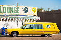 Green Bay Arizona (Thomas Hawk) Tags: arizona gbarglounge greenbaypackers hearst mesa oldsmobile usa unitedstates unitedstatesofamerica auto automobile bar car football fav10 fav25 fav50