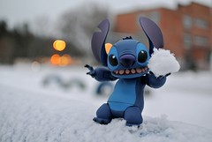 Stitch is having fun (svetlana.titova) Tags: disney figure figures figurephotography movierevo kaiyodo revoltech stitch liloandstitch ohana