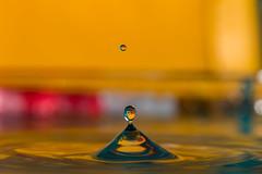 Just water (Cathy_abd) Tags: eau figé fuite goutte deau h2o impact liquide pluie éclaboussure abstrait bleu decor onde vibration