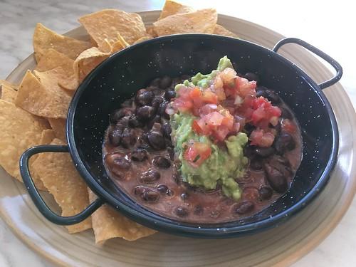 Delicious Beans, Salsa, Guacamole
