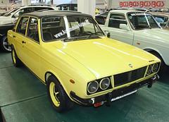 Paykan GT (Schwanzus_Longus) Tags: essen motorshow motor show german germany iran iranian old classic vintage car vehicle sedan saloon khodro ikco paykan hillman hunter national yellow gt