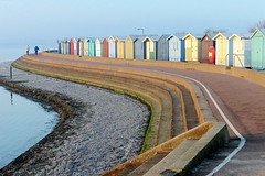 A Cold Walk By The Sea (Alan1954) Tags: brightlingsea essex 2017 sea frost beachhuts platinumheartaward platinumpeaceaward