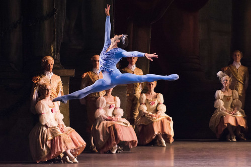 <em>The Sleeping Beauty</em> dance highlight: the Bluebird <em>pas de deux</em>