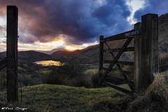 Gateway Sunset (Paul Sivyer) Tags: