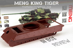 Meng King Tiger (Andy R Moore) Tags: themodellingnews inboxreview meng kingtiger 135