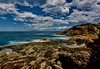 Jumble (jack eastlake) Tags: seascape sea scape rock platform tathra nsw far south coast fishing fishermen