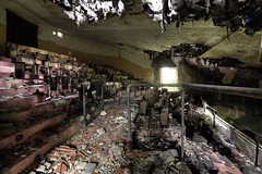 I gues the film is over.... (notanaddict321) Tags: verlassen decay abandoned cinema theatre urbex urbanexploration urbexitalia