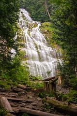 Bridal Veil Falls (Kurayba) Tags: bridal veil falls british columbia interior canada waterfall old growth forest landscape pentax k5 da 1645 smcpda1645mmf40edal creek trees wood provincial park chilliwack bc