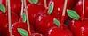 Pommes d'Amour... (Pi-F) Tags: pomme rouge sucre feuille amour baton vert brillant
