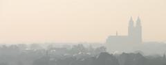 [Explore #224] Cold as Ice (Froschkönig Photos) Tags: cold ice coldasice kalt magdeburg fog nebel dom rauch qualm schornstein winter canoneos70d efs18135 explore