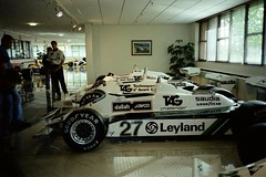 Alan Jones's 1980 Williams-Ford FW07B - Williams Grand Prix Collection, October 1996