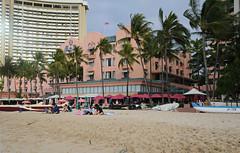 Waikiki - Royal Hawaiian Hotel - 2017 (tonopah06) Tags: hawaii hi honolulu 2017 royalhawaiian hotel waikiki beach morning