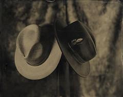 B&W (Giorgio Bordin) Tags: altprocesses hat panama wet plate collodion positive ambrotype