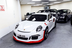 Different. (Reece Garside | Photography) Tags: porsche porsche911 911 991 gt3 911gt3 991gt3 german supercar summer spotter sun street hypercar history rare london white supervettura car canon canon6d 6d ascot virginiawater worldcars