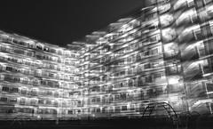 Light Rooms (Wilson Au | 一期一会) Tags: shekkipmei hongkong doubleexposure night monochrome blackandwhite fujifilmxe2 fujinon xf1855mmf284rlmois