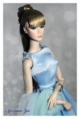 Feeling Blue (Jonlexx) Tags: up all night lilith twins integrity toys nu face fashion royalty doll cinematic convention 2015 indonesia blonde pretty boneka cantik alexander jon