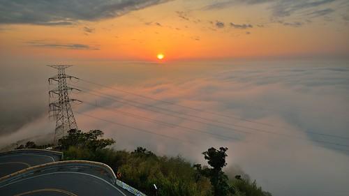 梅山36灣~日落雲海~ Cloud sunset