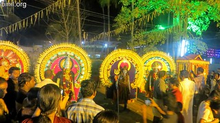 Thrissur Anchery Kavu Temple Bharani Vela 7