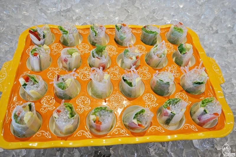 寒天蔬果卷(塔塔醬為蛋素)
