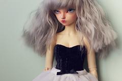 ♥ MNF Custom request ♥ (Plume Blanche Créations) Tags: minifee rheia activeline dress corset clothing bjd balljointeddoll slimmsd plumeblanchecréations plumeblanche dollclothing