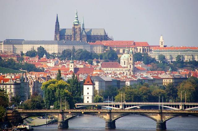 居高眺望布拉格城堡區2