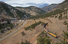 The Tunnel District (Justin Franz) Tags: denver colorado unionpacific trains moffat up