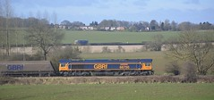 GBRf 66750 at North Anston [2 of 3] (parkgateparker) Tags: gbrf 66750 bristolpanelsignalbox syjnt southyorkshirejoint northanston