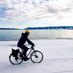 (kryfoto) Tags: vinter sykling sykkel