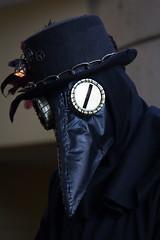 otakon 2015 (mevrain) Tags: black otakon otakon2015 plaguedoctor