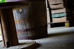Should I stay or should I carGo (zitathegels) Tags: station museum train nikon waiting barrels thenetherlands cargo luggage trainstation intothewoods packed sittingwaitingwishing woodmorning yougivemewood