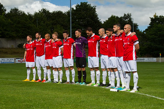 Salford City F.C - Minutes Silence For Neville Neville