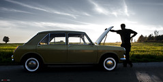 Open bonnet... (bent inge) Tags: classic norway vintage austin september 70s 1972 rogaland klepp 2015 veteranbil austin1300 gammelbil englishclassic bentingeask askphoto