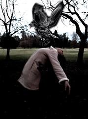 Death (catalinastorchi) Tags: black bird girl death gloomy soul devil nostalgic psychelia