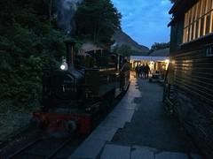 First Light (P&A125) Tags: night all railway steam 150 talyllyn