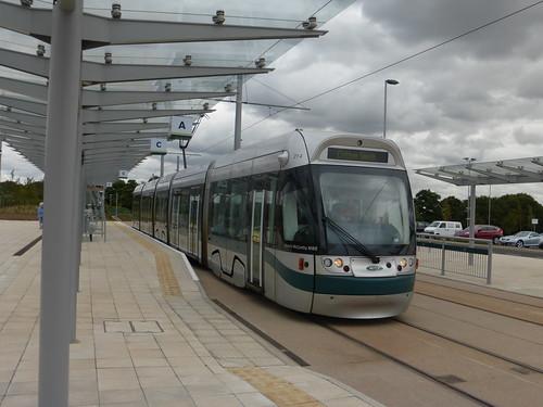 Nottingham Express Transit (Phase 2) - Tram 214