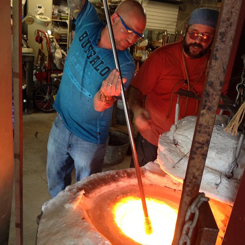 Makin glass pumpkins http://marblecityglassworks.com/blog/2015/08/31/3008/