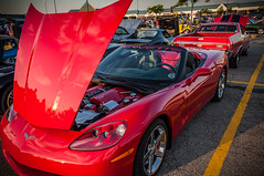 C6 Corvette Convertible (Harold Brown) Tags: automobile brunswick brunswickfamilyrestaurant c6 car carshow chevrolet chevy convertible corvette cruisein gm generalmotors haroldbrown laurelsquareshoppingcenter medinacounty nikon nikond90 ohio outdoor red roadster sportscar summer transportation usa vehicle bhagavideocom haroldbrowncom harolddashbrowncom photosbhagavideocom