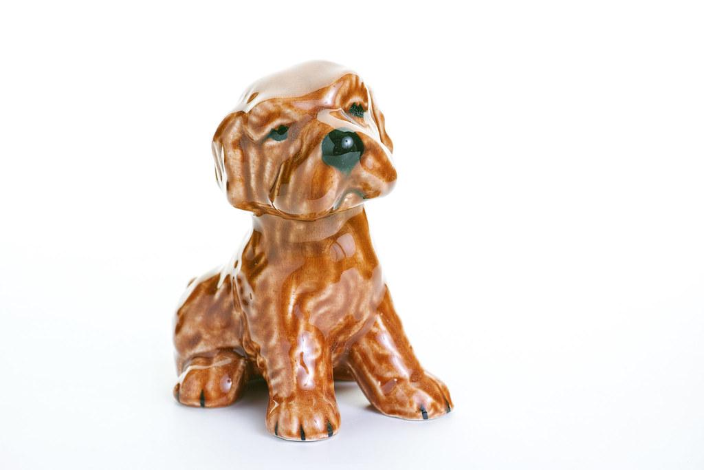 Sid Sharpe - campsie ware dog