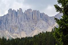 Astonishing Dolomites, Mount Latemar (2814 m), view from the Carezza Lake (presbi) Tags: mountain mount montagna dolomites dolomiti carezza karersee latemar sudtirol ruby10 ruby5 ruby15 ruby20