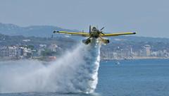 Air Tractor AT-802 F        Bombers generalitat (Andreu Anguera) Tags: catalunya mataró airtractor at802f festaalcel andreuanguera bombersgeneralitat