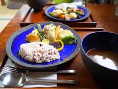 - / (INZM.) Tags: food flower japan temple japanese soup kamakura curry  soupcurry kitakamakura       hokaiji   hagidera