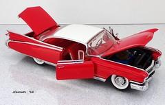 1959 Cadillac Eldorado Seville Hardtop (JCarnutz) Tags: seville cadillac eldorado 1959 diecast franklinmint 124scale