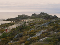 Atardecer en Baroes (madreselva20) Tags: galicia castro muralla cultura baroa castrea