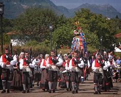 Procession (Charlemagne OP) Tags: espaa fiesta asturias bagpipe noriega ribadedeva