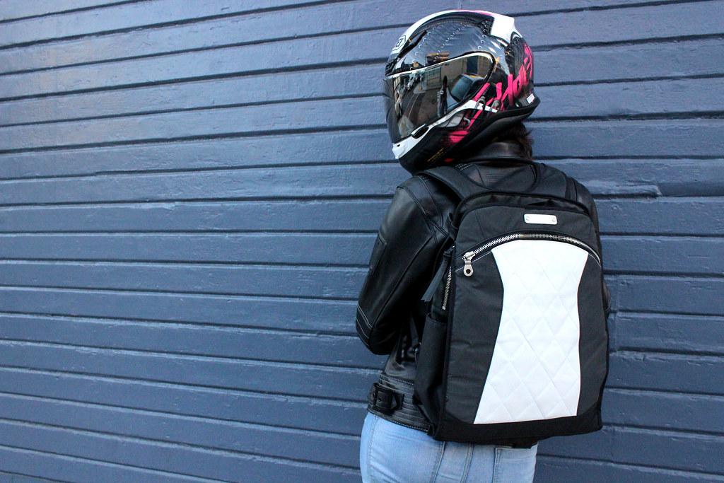 Sportbike leather jacket