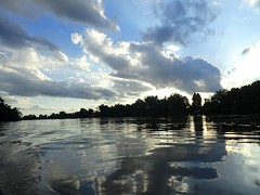 Clouds in Laos on the Xe Bangfai River